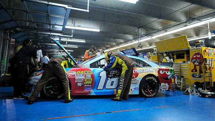 Kyle Busch frustrated after second engine failure