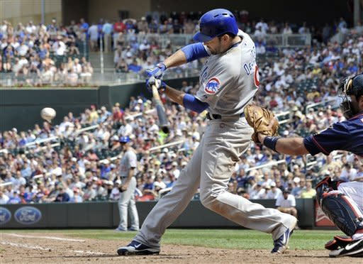 Dempster sparks Cubs vs. Twins 8-2 in 8-inning gem