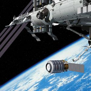 Space Station Traffic Jam Delays 1st Arrival of New Private Cygnus Spacecraft