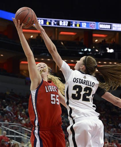 Purdue women beat Liberty 77-43 in NCAA 1st round
