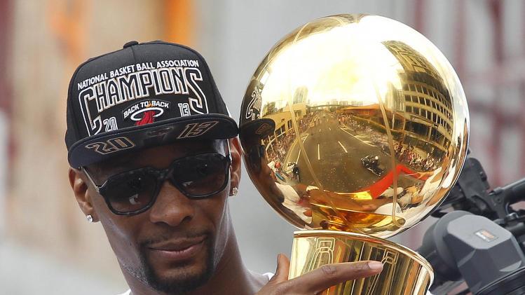 NBA: Miami Heat-Championship Celebration