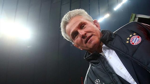 FC Bayern Mnchen, Trainer Jupp Heynckes