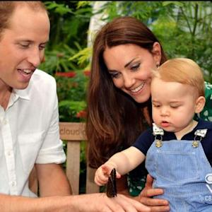 Britain's Prince George turns one