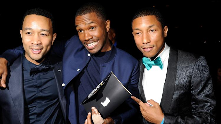 John Legend, Frank Ocean, Pharrell Williams