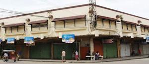 Shops that are closed due to super-typhoon Hagupit …