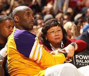 Pain still part of game for Kobe Bryant