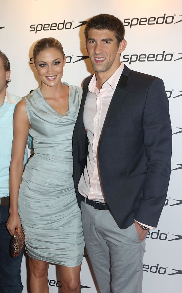 Michael Phelps with Girlfriend