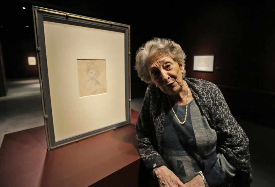 Michelangelo's drawings going on display in Va.