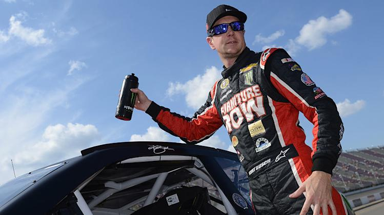 Kurt Busch sweeps Saturday practice at Michigan