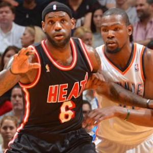 Race to the MVP: LeBron vs Durant