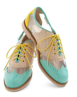 Rachel Antonoff for Bass New Orleans Attitude Shoes