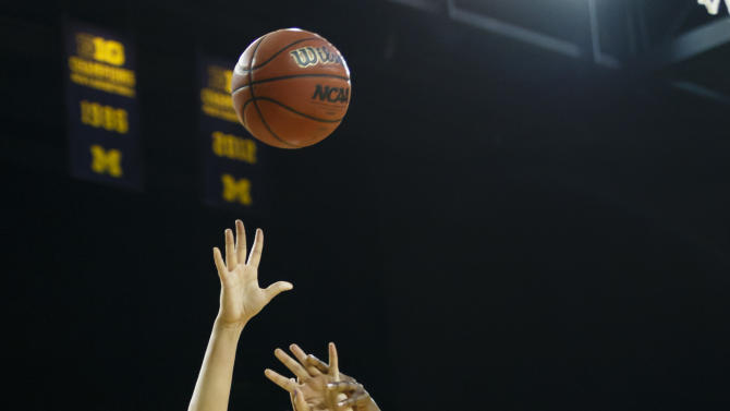 NCAA Womens Basketball: Indiana at Michigan