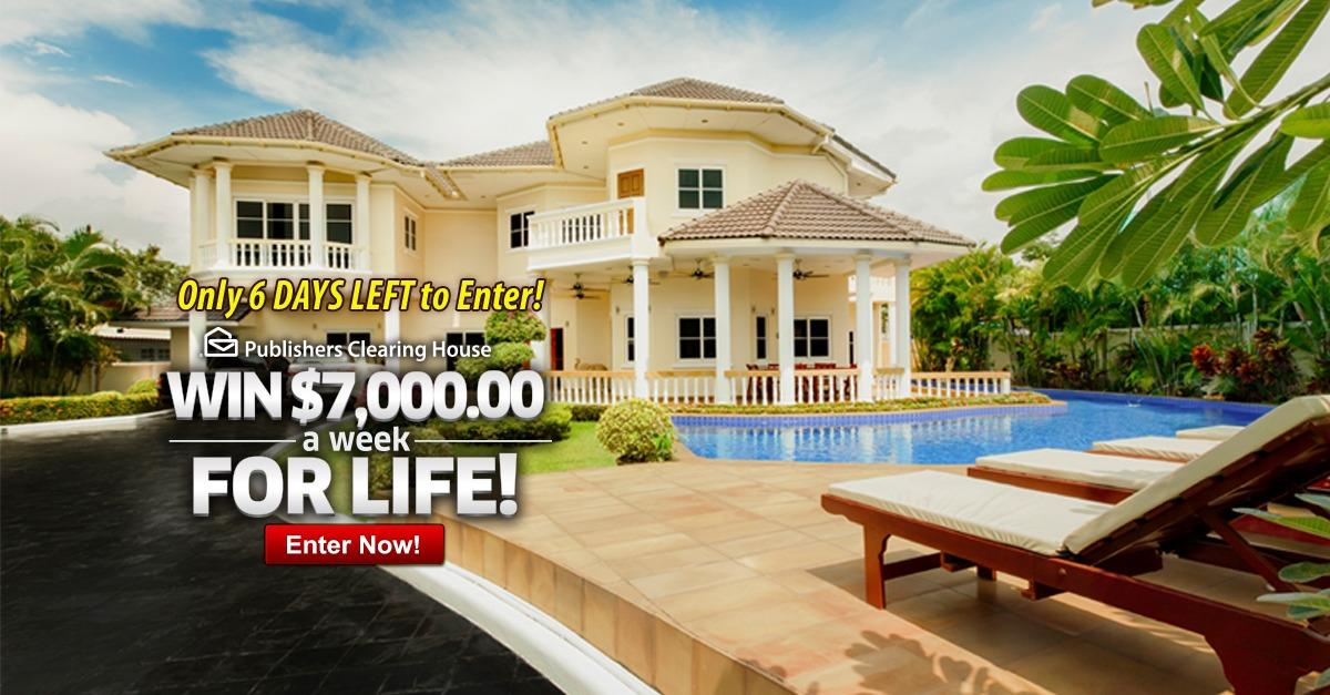 Win $7k A Week For Life
