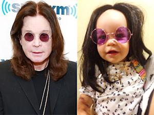 Jack Osbourne Dresses Daughter Pearl Like Rocker Dad Ozzy Osbourne: Picture