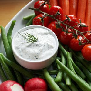 Low-Fat Dips, Dressings, and Spreads