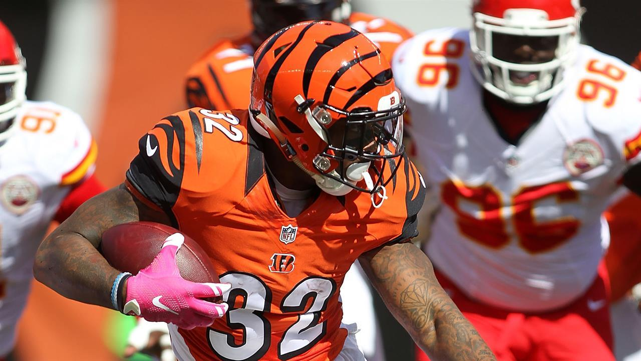 Don't buy into Jeremy Hill's three-TD performance