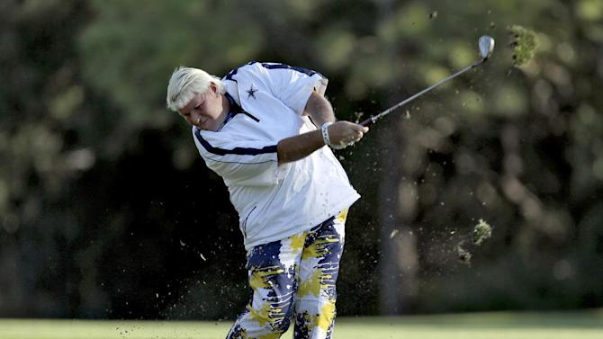 Harrington had no problem playing with John Daly