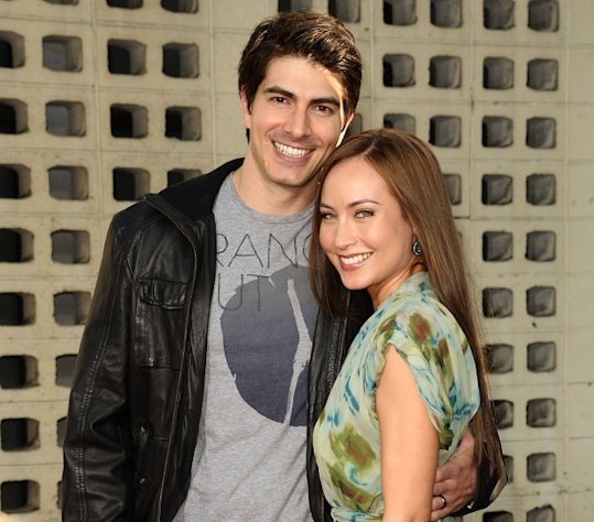 Brandon Routh and actress Courtney Ford attend the premiere of HBO&#39;s &#39;True Blood&#39; at ArcLight Cinemas Cinerama Dome in Hollywood on June 21, 2011 -- Getty Premium