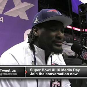 New England Patriots running back LeGarrette Blount on Seahawks: 'They're not immortal'