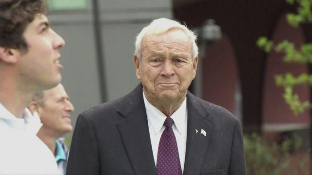 Arnold Palmer tips Woods for US Open
