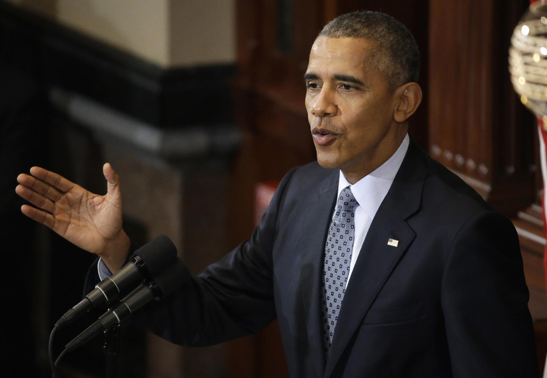 In Illinois, Obama issues an appeal for political unity