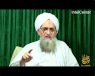 An image from a video released by IntelCenter in October shows new Al-Qaeda leader Ayman al-Zawahiri. Osama bin Laden's chosen successor as Al-Qaeda's emir has not been able to unite the same loose global movement under his command
