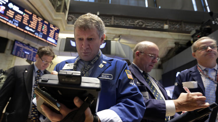 Stocks slide on Wall Street; American Eagle drops