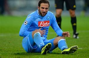 Napoli: Higuain operating at 80 percent