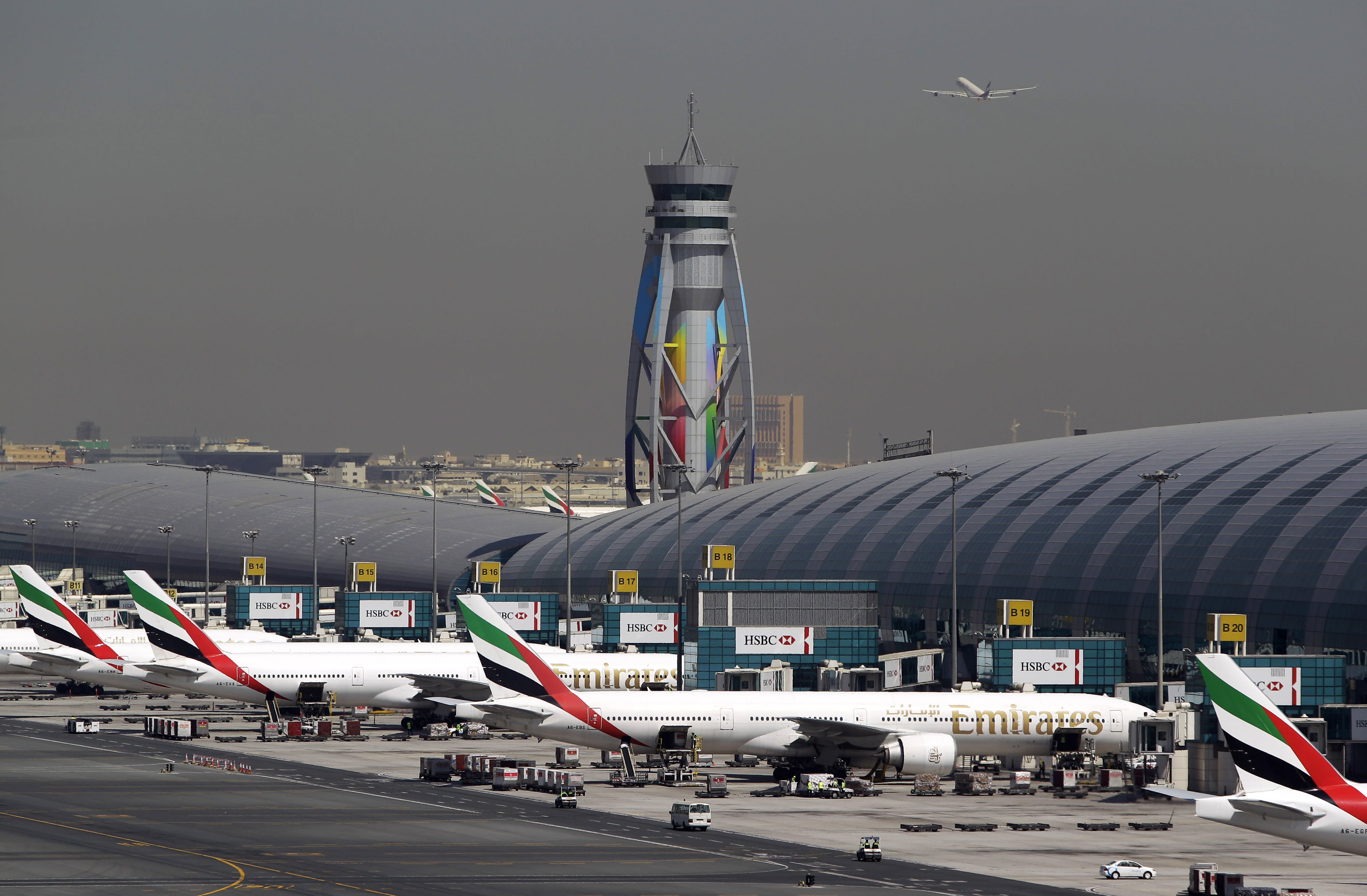 Dubai claims title of world's busiest international airport