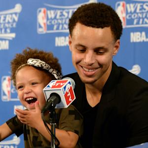 Should kids be allowed at postgame press conferences?