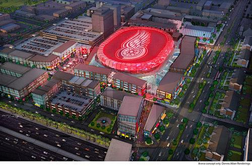 New Red Wings Arena Name Revealed Soon