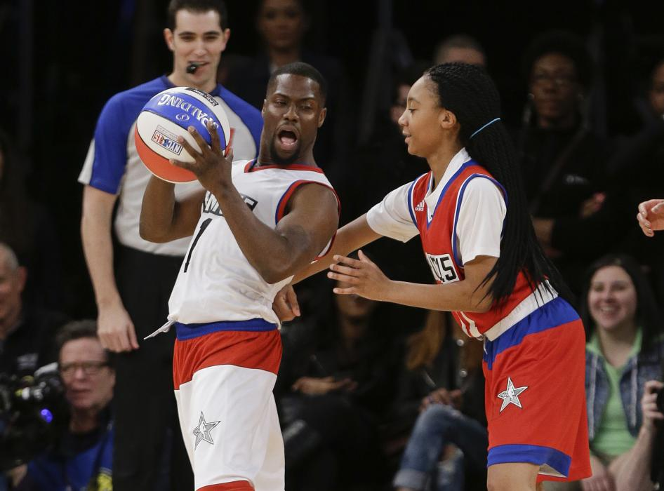 NBA All-Star weekend: Celebrity Game