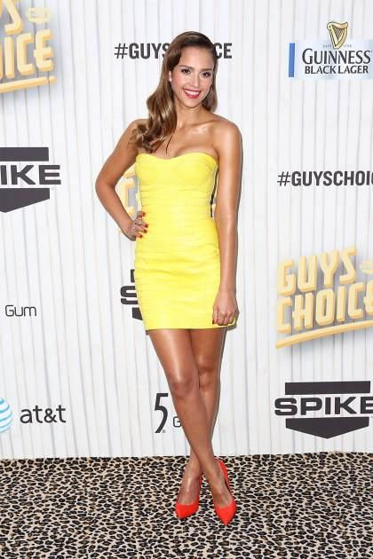 Jessica Alba at the Guys Choice Awards, Los Angeles, June 8, 2013 -- Getty Images