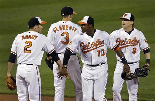 Orioles beat Royals 5-3 for 4th straight victory