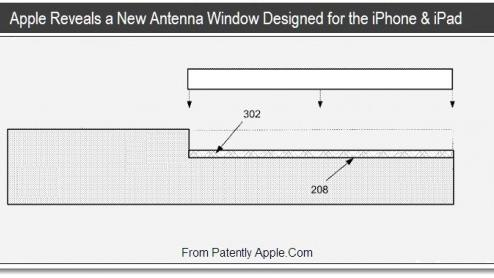 Apple files new antenna patent for iPhones and iPads