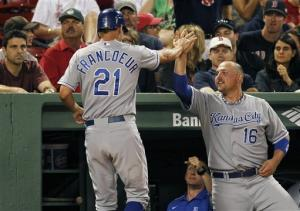 After trade, depleted Red Sox lose to Royals 10-9