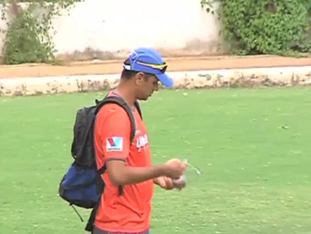 Rahul Dravid makes last appearance on cricket field