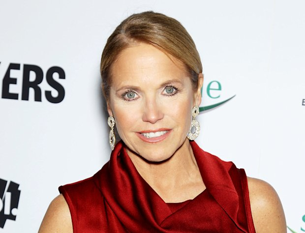 "FILE - This Feb. 6, 2013 file photo released by Starpix shows TV personality Katie Couric at the premiere of ""Makers: Women Who Make America"" at Alice Tully Hall at Licoln Center in New York. New York City police said Thursday, Feb. 14, 2013, they had been called to Couric's Manhattan home several times recently because of 911 calls traced to a phone listed there. The 911 operator hears only static, but police are compelled to answer each call. The calls come on Tuesdays at 2 a.m., as Couric told an audience at her talk show's taping this week. Police say they are investigating whether something's wrong with her phone or if Couric is the victim of a high-tech prankster. (AP Photo/Starpix, Marion Curtis)"