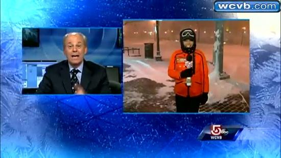 ABC's Ginger Zee reports on storm