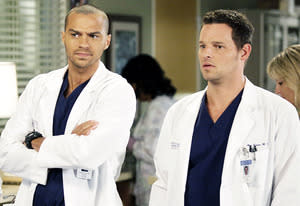 Jesse Williams and Justin Chambers | Photo Credits: Kelsey McNeal/ABC