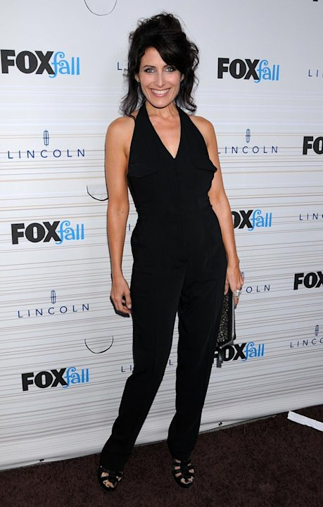 Lisa Edelstein of &quot;House&quot; arrives at the 2010 Fox Fall Eco-Casino party on September 13, 2010, at Boa in West Hollywood. 