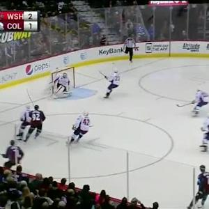 Braden Holtby Save on Gabriel Landeskog (01:13/3rd)