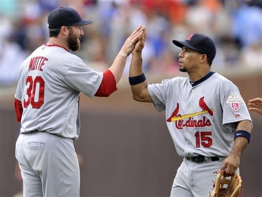 Cardinals HR in each of first 5 innings, beat Cubs