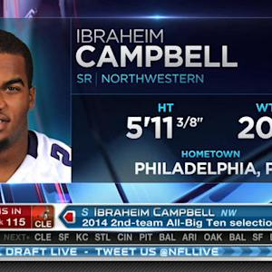 Cleveland Browns pick safety Ibraheim Campbell No. 115 in the 2015 NFL Draft