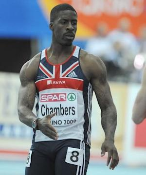 Dwain Chambers is preparing for the 2012 Olympics despite his ban.