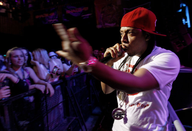 Moonie of LEP performs during the 'Fuse Live: Shady 2.0' SXSW concert at the Austin Music Hall on Friday, March 16, 2012 in Austin, Texas. (Brandon Wade/AP for Fuse)
