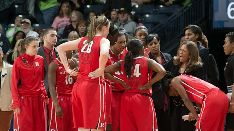NCAA Womens Basketball: Rutgers at Notre Dame