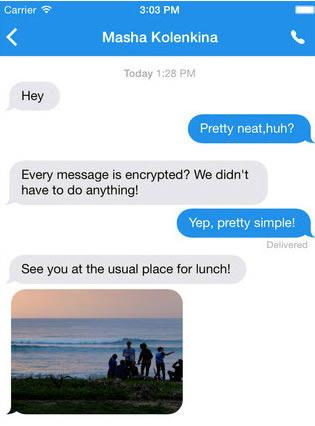 Signal app encrypts iOS users' text messages -- to Android devices too