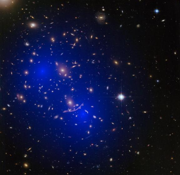 Dark Matter Probably Isn't a Mirror Universe, Colliding Galaxies Suggest