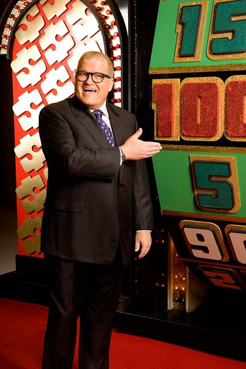 Drew Carey hosts The Price is Right.